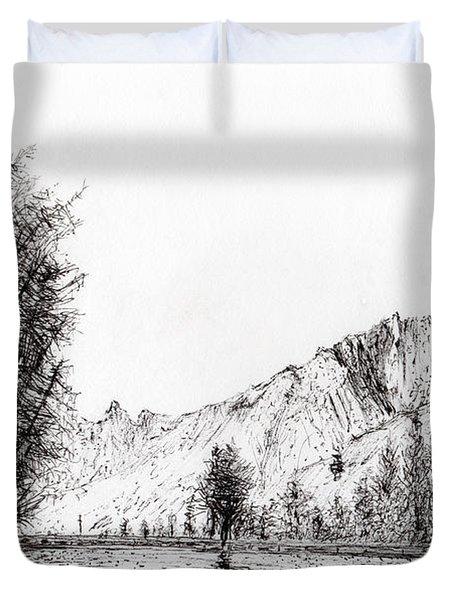Crans  Switzerland Duvet Cover