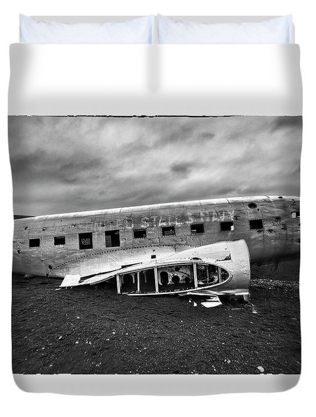 Crash Duvet Cover by Wade Courtney