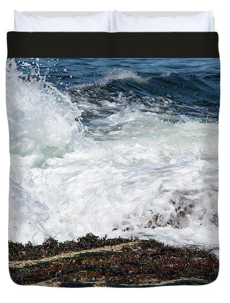 Crashing Surf Duvet Cover