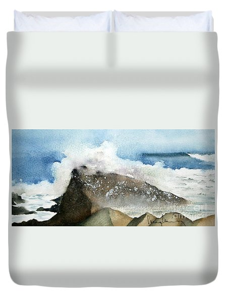 Crashing Surf Duvet Cover