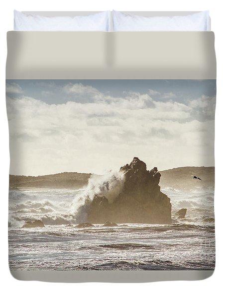 Crashing Tide Duvet Cover
