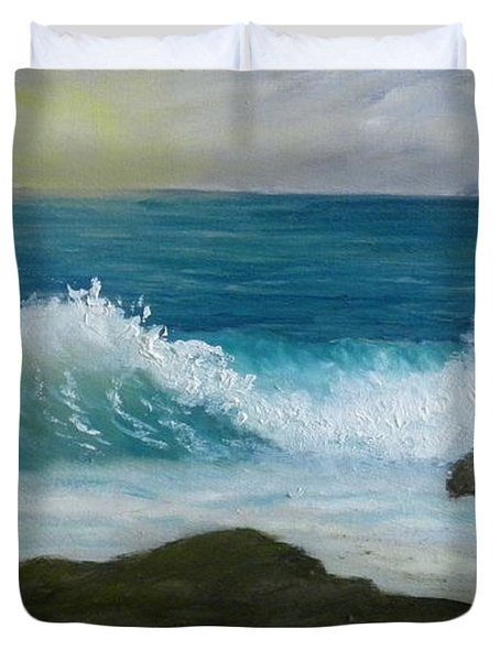 Crashing Wave 3 Duvet Cover