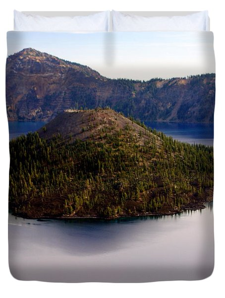 Crater Lake 1 Duvet Cover by Marty Koch