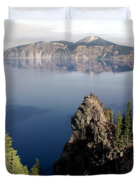 Crater Lake 7 Duvet Cover by Marty Koch