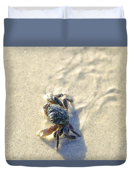 Crawling Back To You Duvet Cover