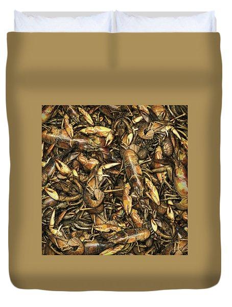 Crayfish Duvet Cover by James Larkin
