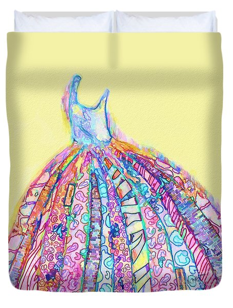 Crazy Color Dress Duvet Cover