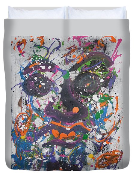 Crazy Day Duvet Cover