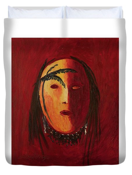 Crazy Horse Duvet Cover