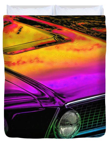 Crazy Horse Duvet Cover by Gordon Dean II