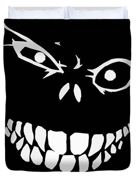 Crazy Monster Grin Duvet Cover