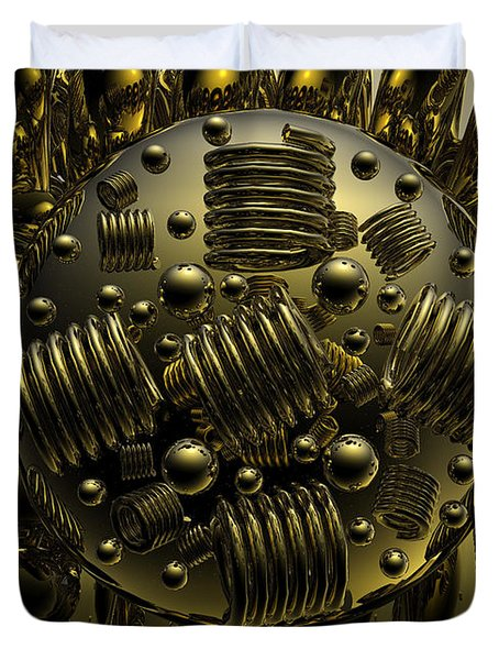Crazy Duvet Cover by Robert Orinski