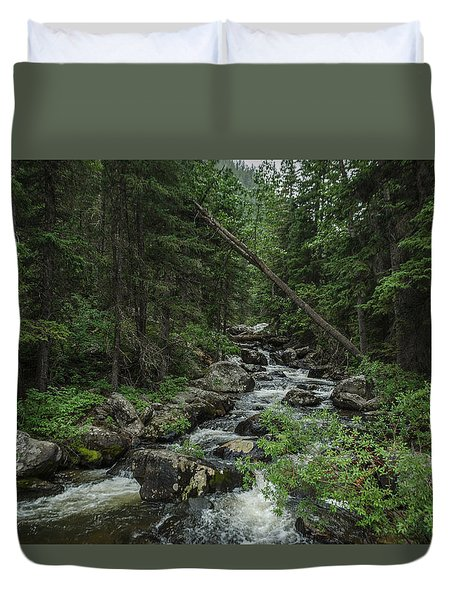 Crazy Woman Canyon Duvet Cover