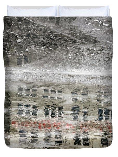 Cream City Cold Duvet Cover
