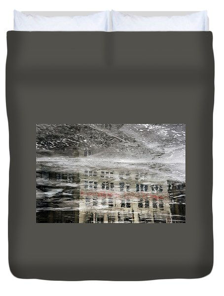 Cream City Cold Duvet Cover