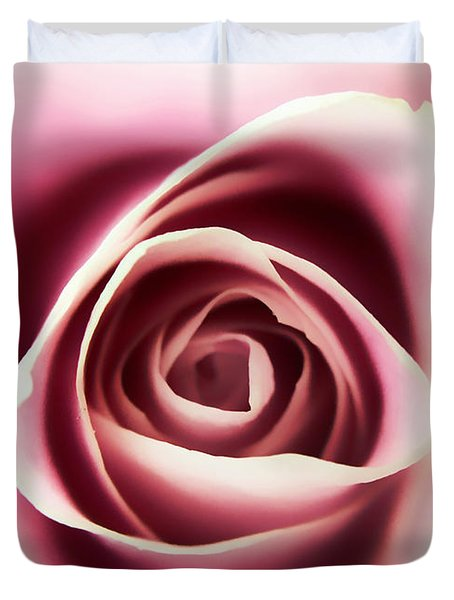 Creamy Pink Duvet Cover