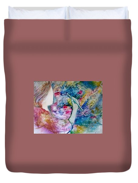 Created To Create Duvet Cover