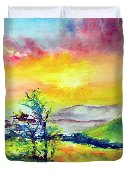 Creation Sings Duvet Cover