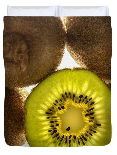 Creative Kiwi Light Duvet Cover