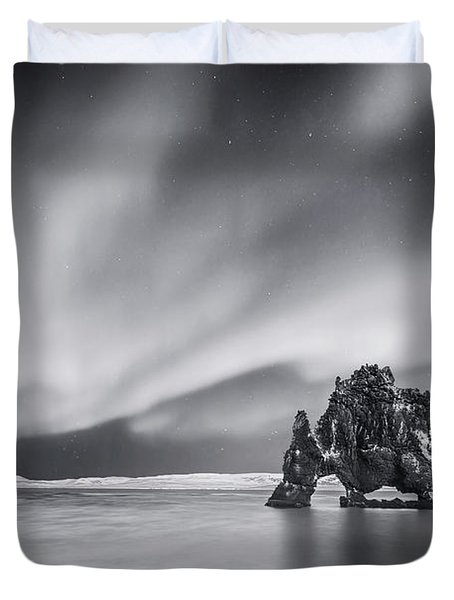 Creature Of The Night Duvet Cover