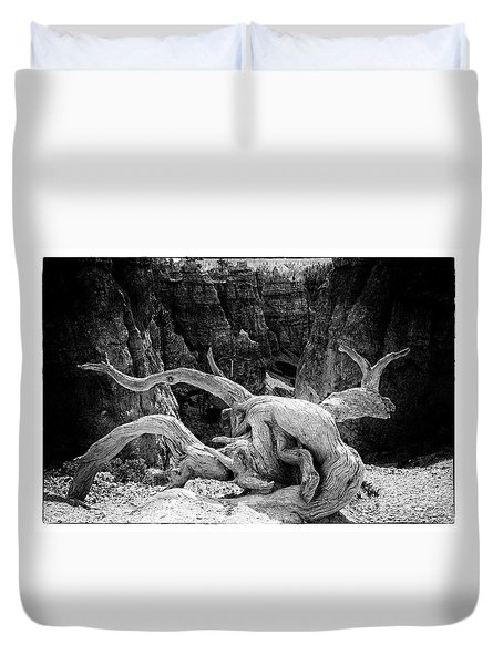 Creatures Of Bryce Canyon Duvet Cover