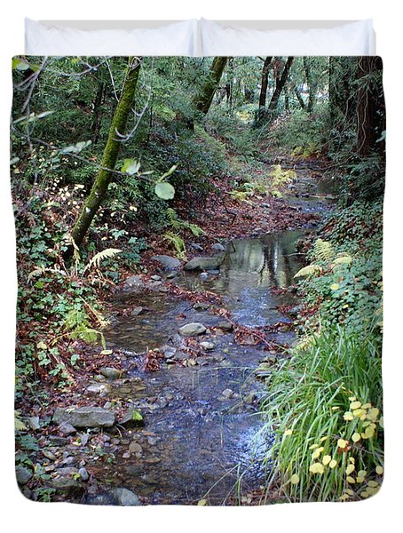 Creek On Mt Tamalpais 2 Duvet Cover