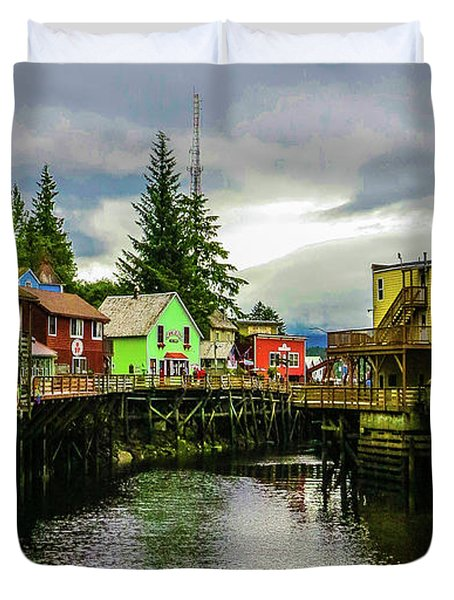 Creek Street 1 Duvet Cover