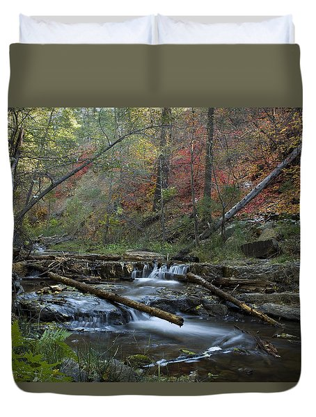 Creekside Color Duvet Cover by Sue Cullumber