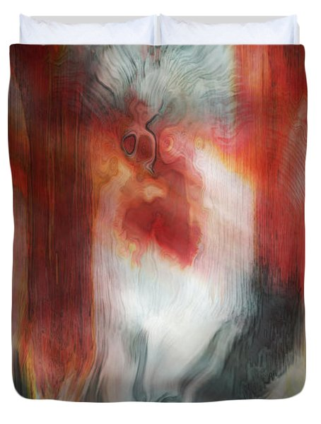 Creep Duvet Cover by Linda Sannuti