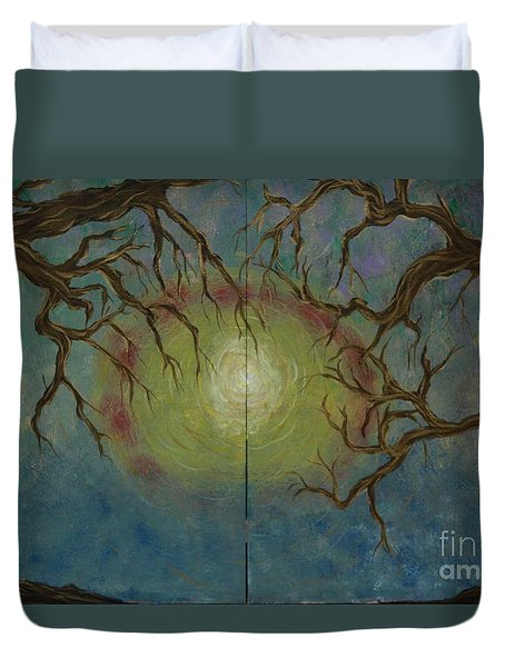 Creeping Duvet Cover by Jacqueline Athmann