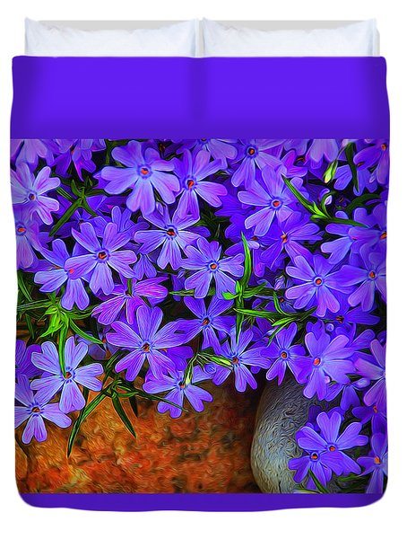 Creeping Phlox 1 Duvet Cover
