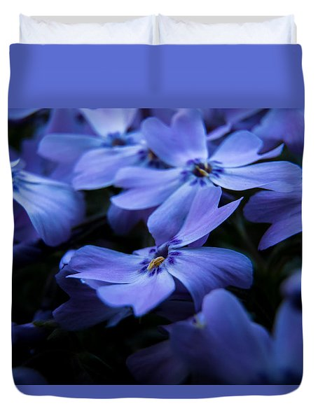 Creeping Phlox Duvet Cover
