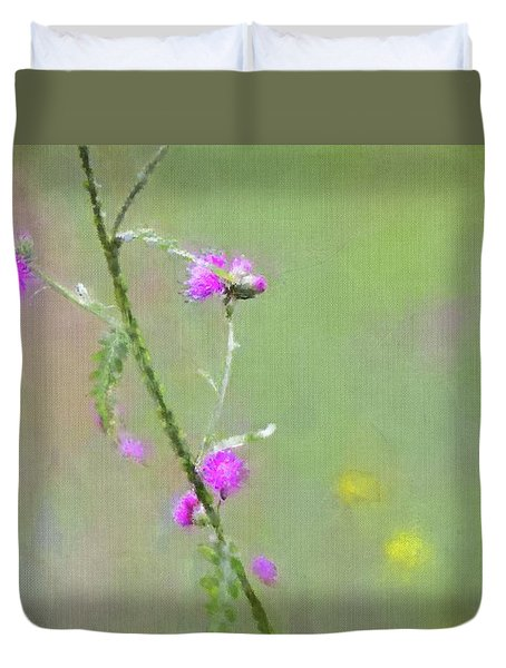 Creeping Thistle Duvet Cover