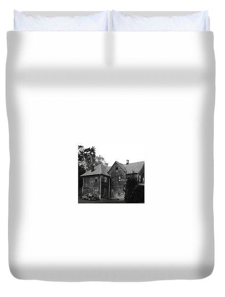Creepy Old House Duvet Cover