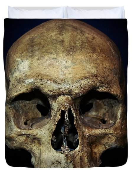Creepy Skull Duvet Cover