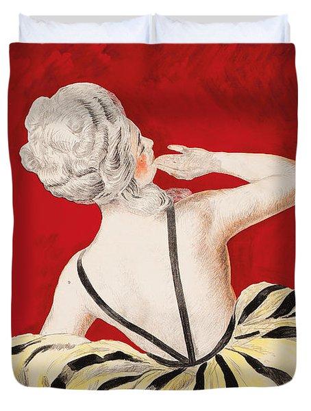 Creme De Luzy Duvet Cover