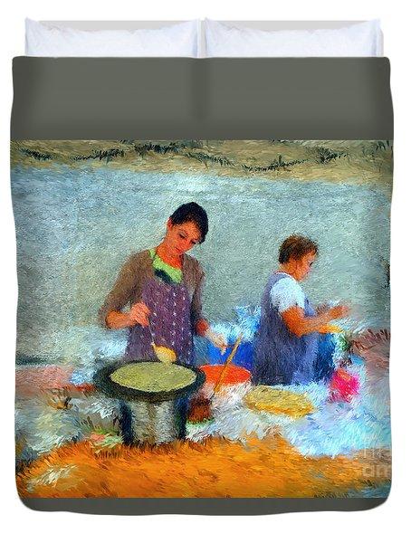 Crepe Makers Duvet Cover