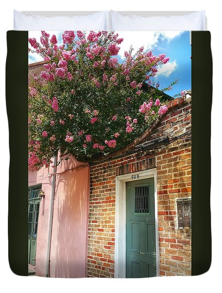 Crepe Myrtle Canopy Duvet Cover
