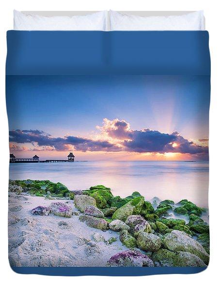 Crepuscular Duvet Cover