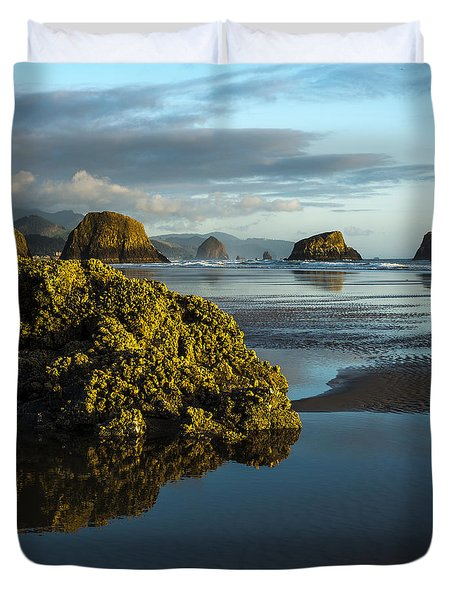 Crescent Beach Duvet Cover