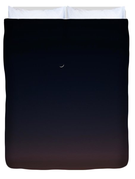 Duvet Cover featuring the photograph Crescent by Eric Christopher Jackson