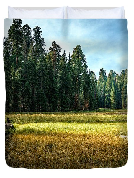 Crescent Meadows Sequoia Np Duvet Cover