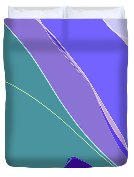 Crevice Duvet Cover