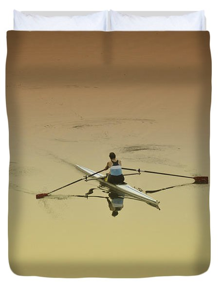 Crew Duvet Cover by Bill Cannon