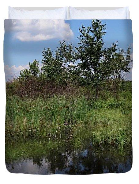 Crex Meadows Duvet Cover