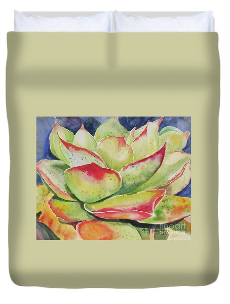 Crimison Queen Duvet Cover by Mary Haley-Rocks