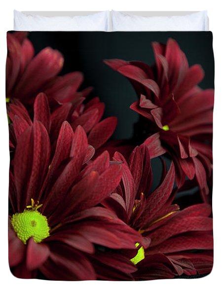 Crimson Lime Duvet Cover