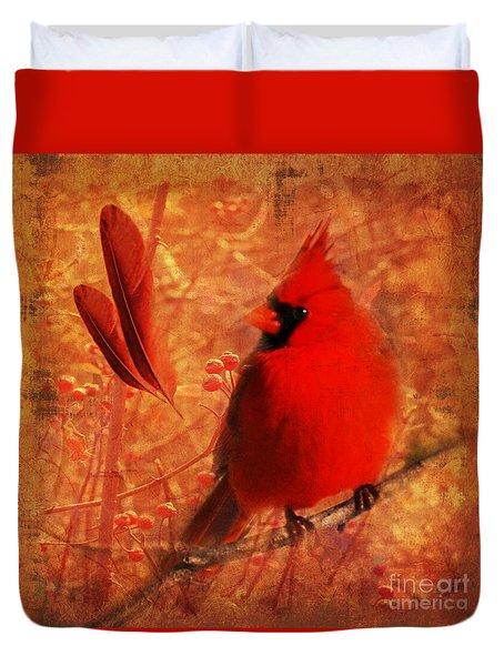 Crimson Splash 2015 Duvet Cover