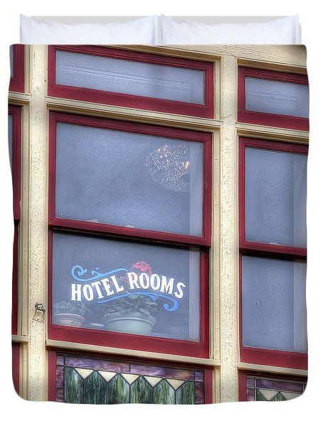 Cripple Creek Hotel Rooms 7880 Duvet Cover