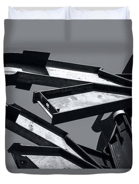 Crissy Field Iron Scuplture Duvet Cover